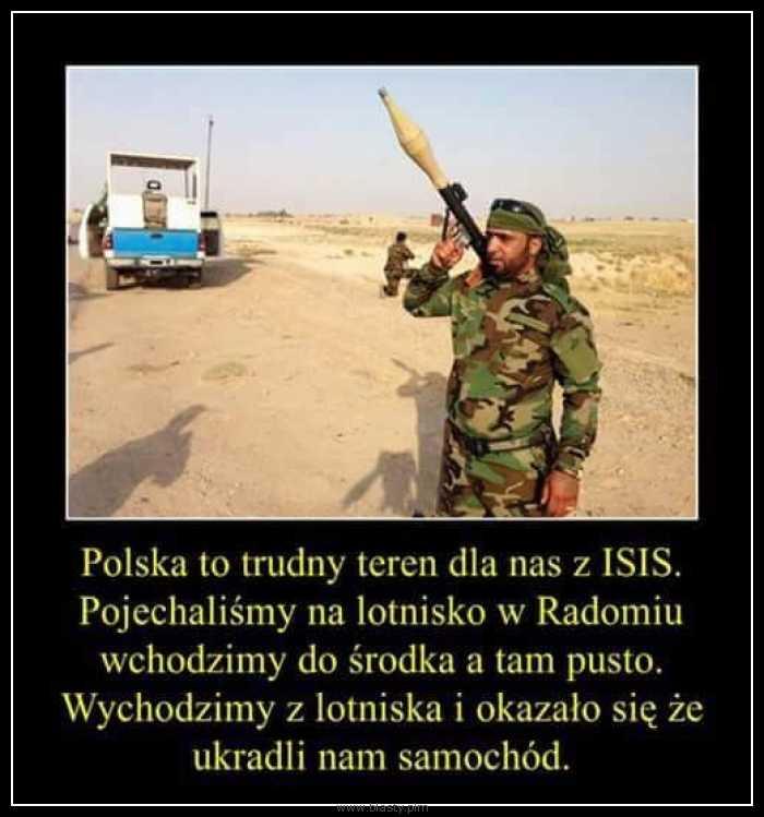 Polska to trudny teren dla ISIS