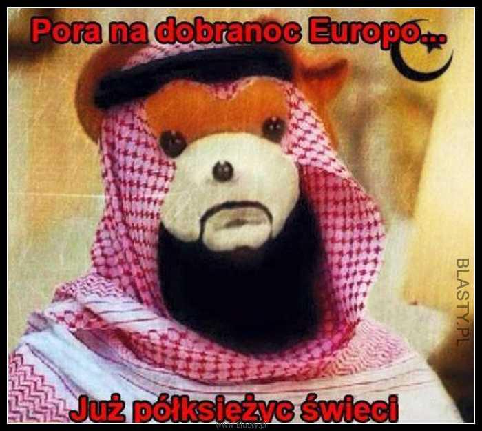 Pora Na Dobranoc Europo Już Półksiężyc świeci Memy Gify I śmieszne