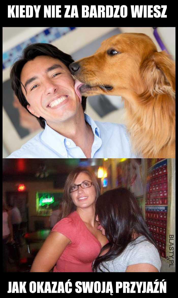 przyjazna jak pies