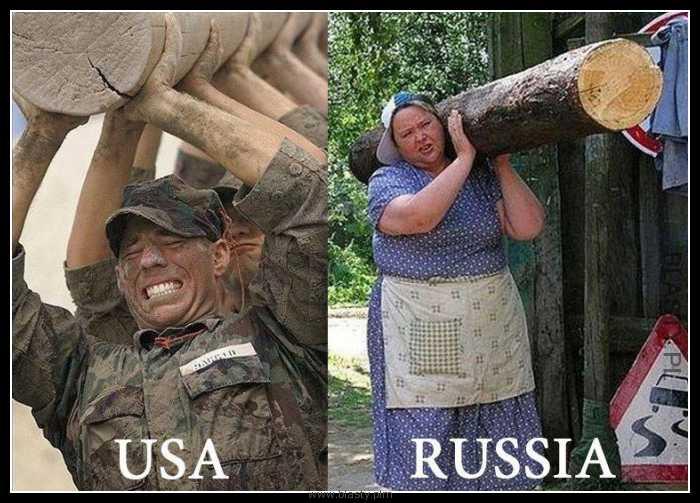 Rosja vs USA