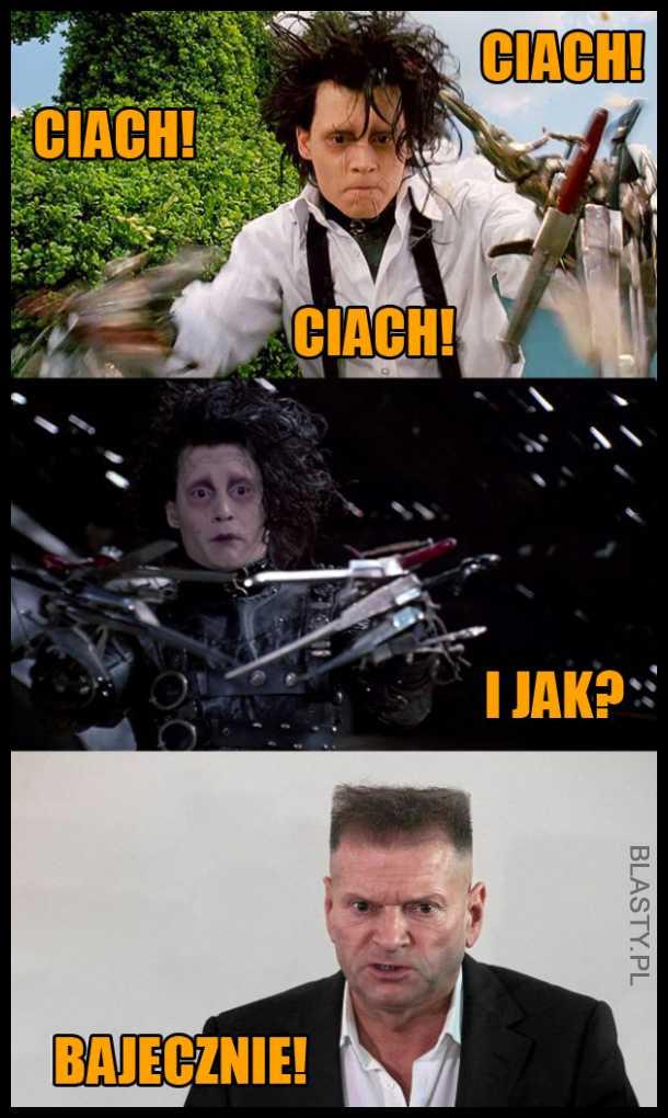 Rutkowski u fryzjera