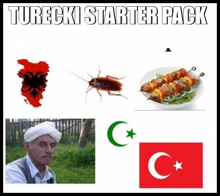 Turecki starter pack