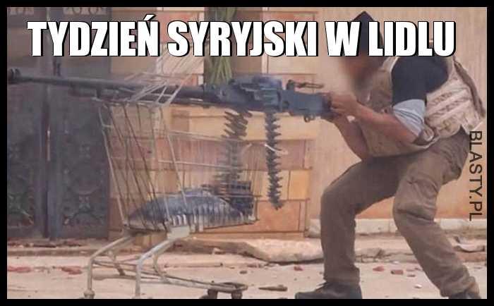 Tydzień syryjski w Lidlu