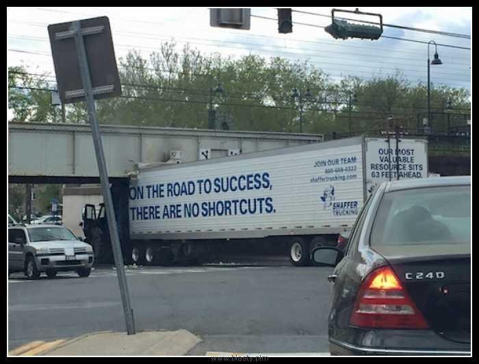 W drodze do sukcesów nie ma miejsca na skróty