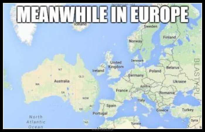 W międzyczasie w europie