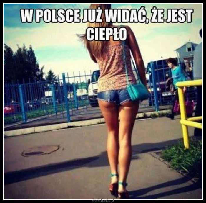 W Polsce już widać, że jest ciepło