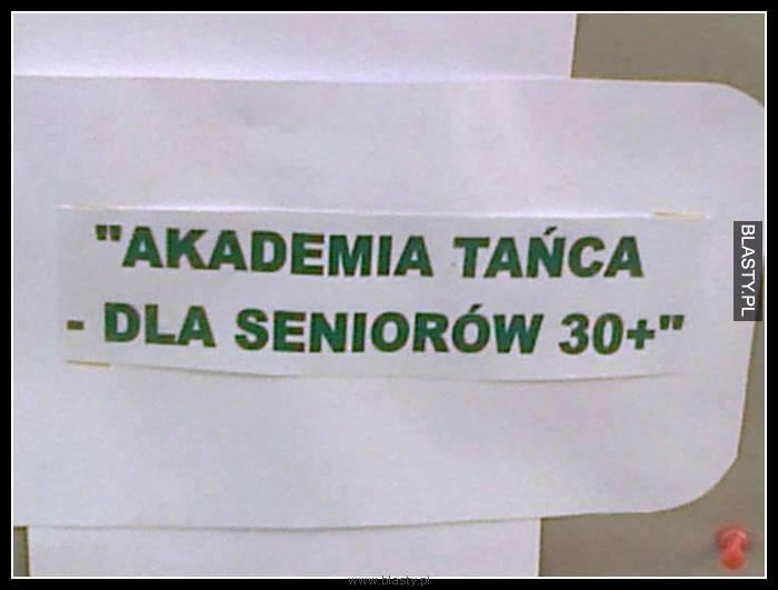 Akademia tańca dla seniorów 30+