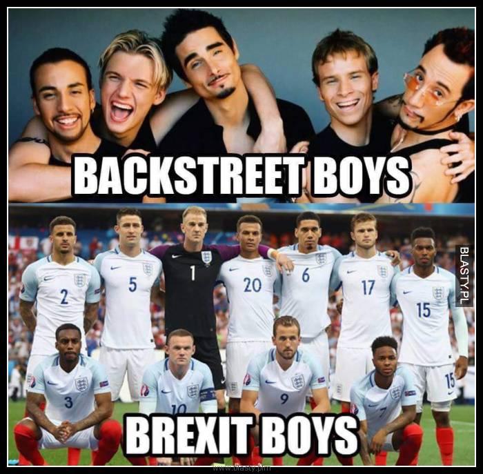 Backstreet boys vs brexit boys