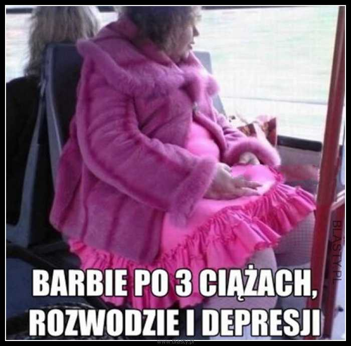 Barbie po 3 ciążach rozwodzie i depresji