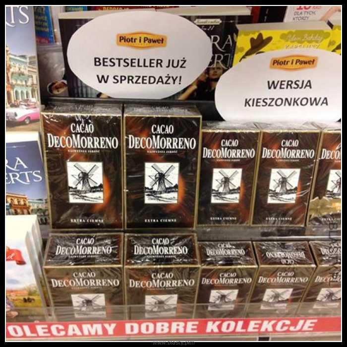 Cacao Decomorreno bestseller już w sprzedaży