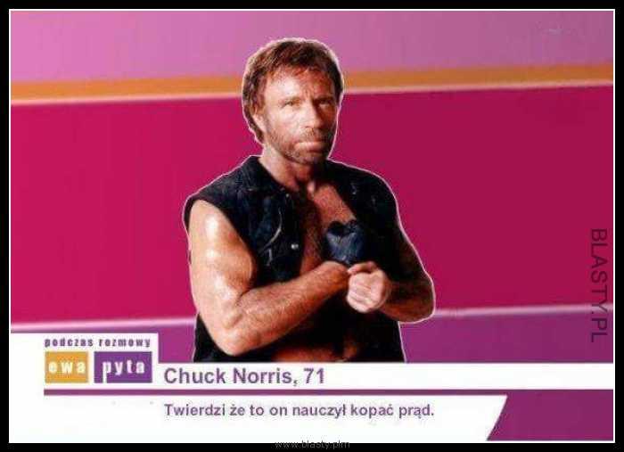 Chuck Norris 71 lat