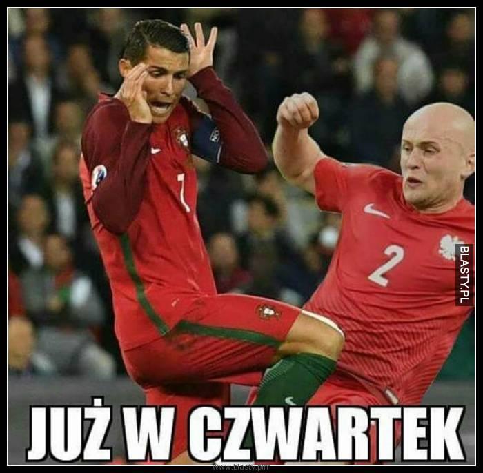 Cristiano Ronaldo vs Michał Pazdan już w czwartek