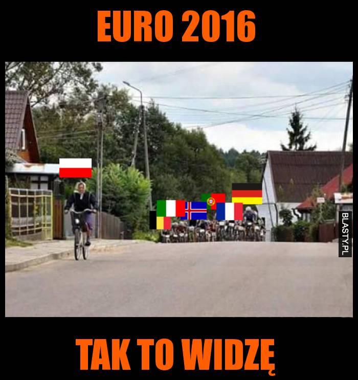 Euro 2016 tak to widzę