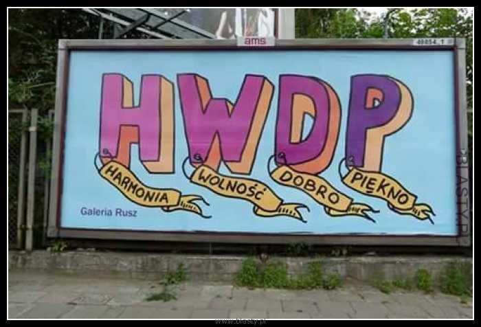 HWDP Harmonia Wolność Dobro Piękno