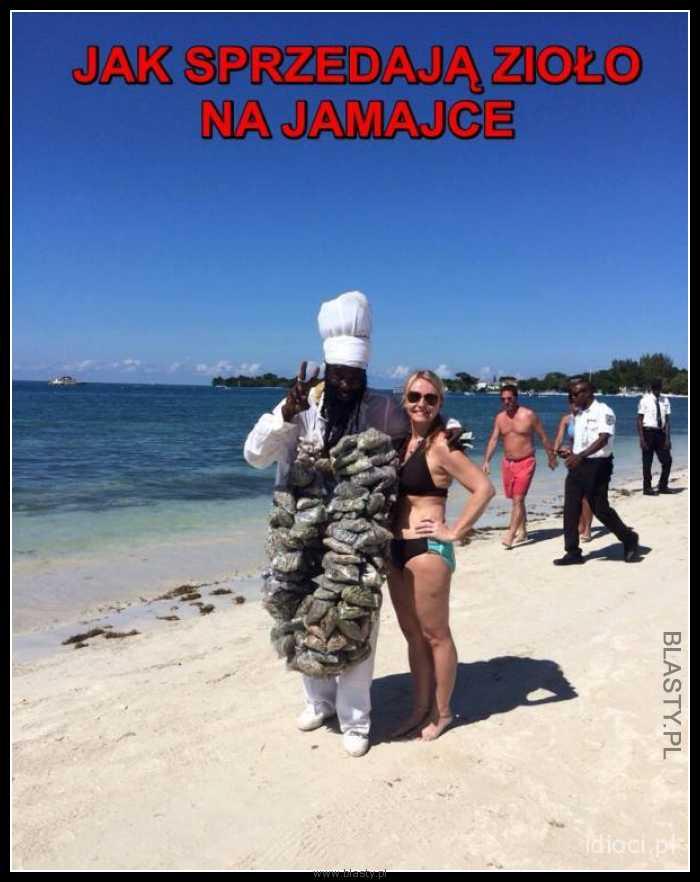 Jak sprzedają zioło na jamajce