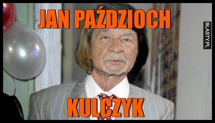 Jan Paździoch Kulczyk