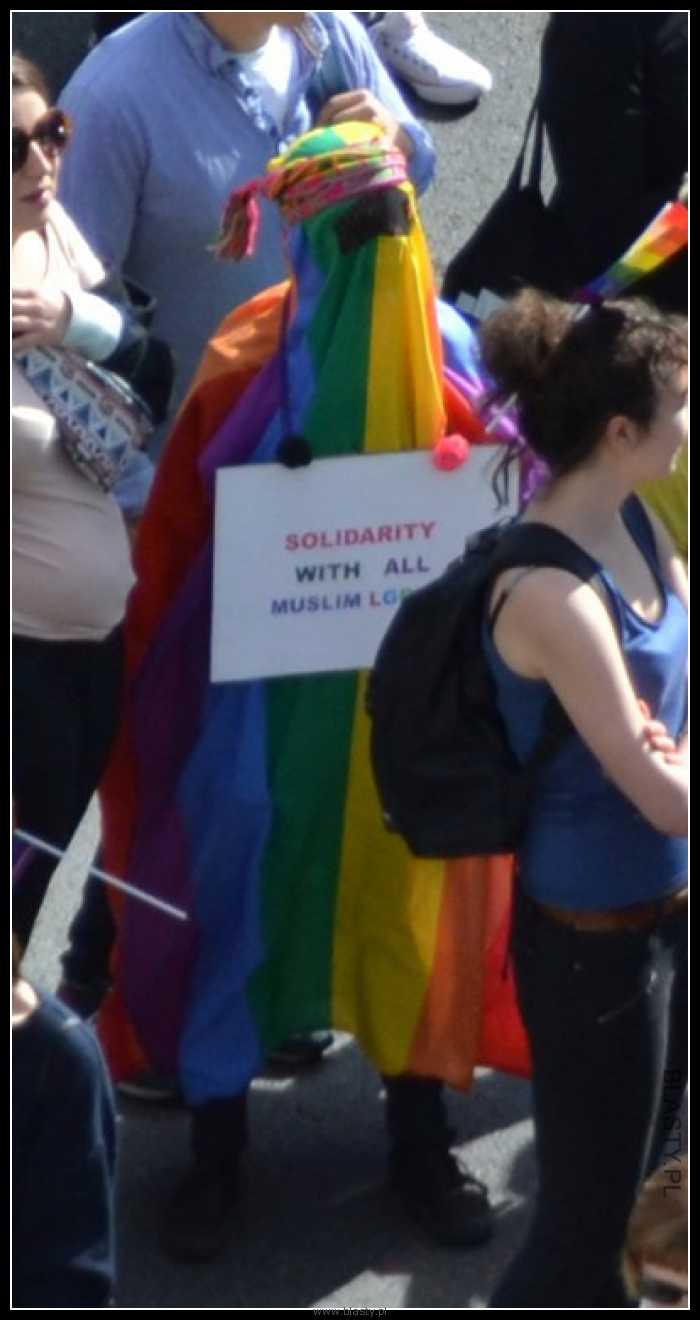 Kiedy solidaryzujesz się ze wszystkimi muzułmanami z LGBT