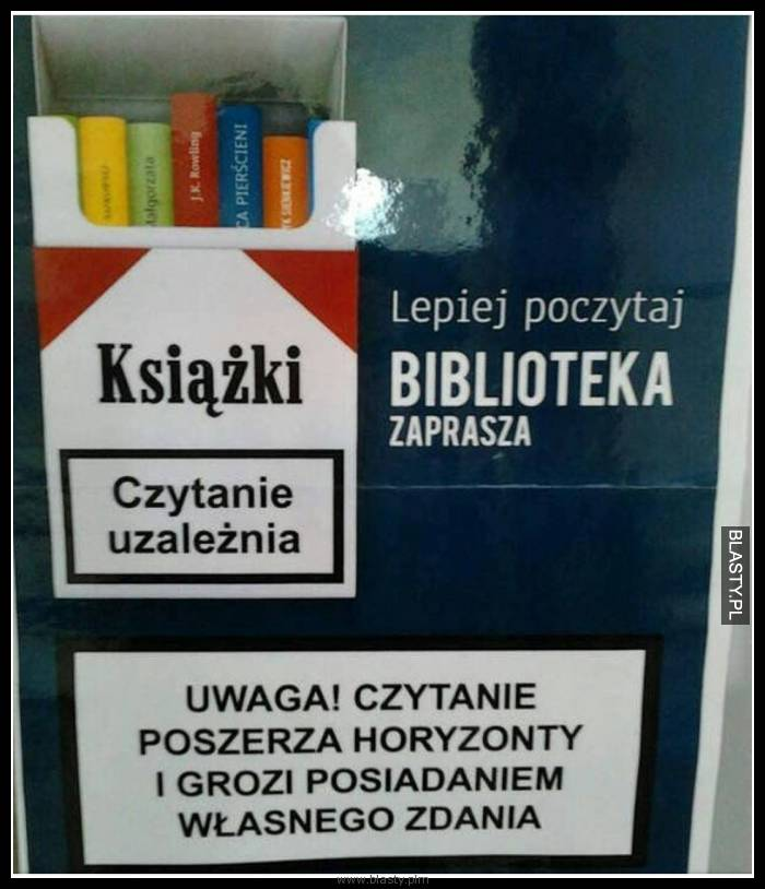 Lepiej poczytaj biblioteka zaprasza