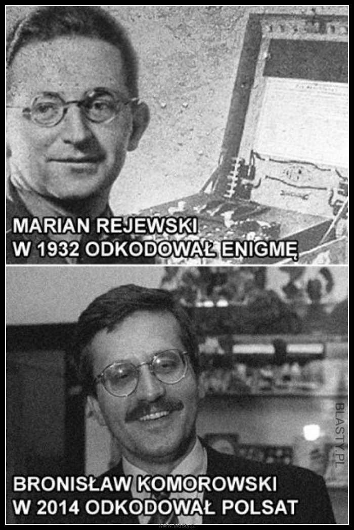 Marian Rajewski vs Bronisław Komorowski