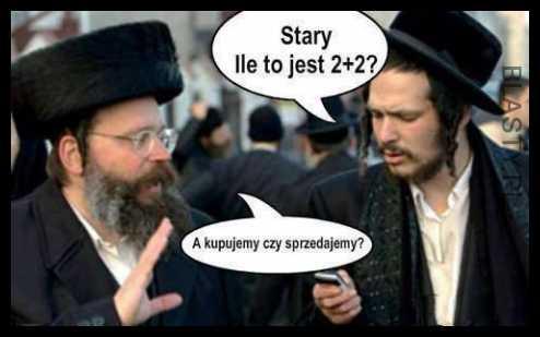 Znalezione obrazy dla zapytania memy z żydami