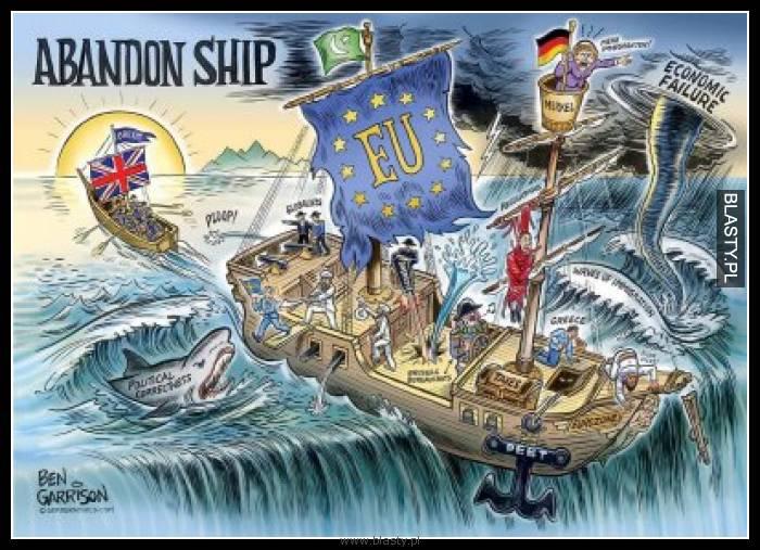 Opuszczamy statek