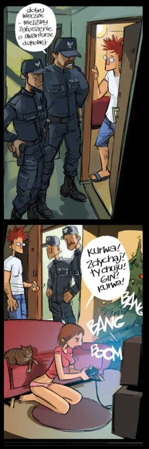 puk puk tu policja