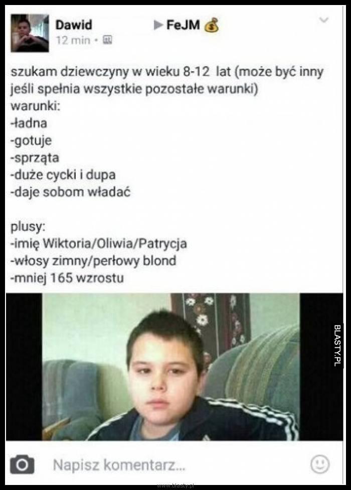 szukam dziewczyny 13 lat Białystok
