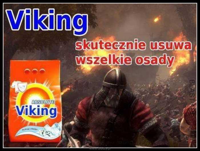 Viking skutecznie usuwa wszystkie osady