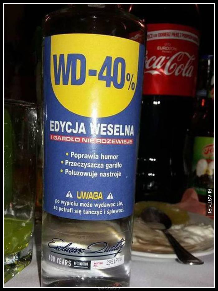 WD 40% edycja weselna