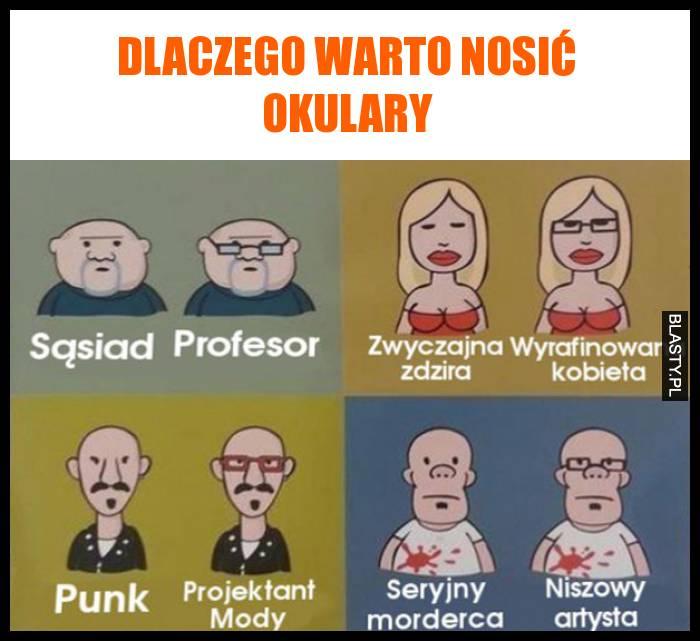Dlaczego Warto Nosić Okulary Memy Gify I śmieszne Obrazki Facebook