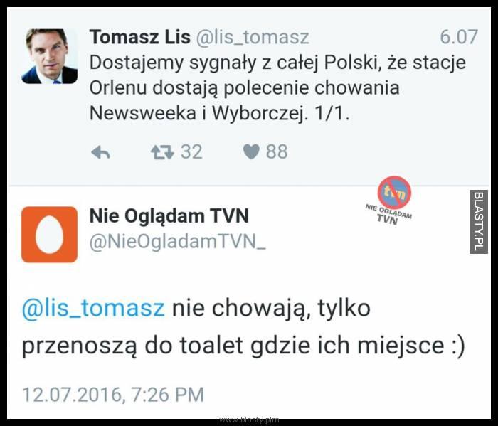 Dostajemy sygnały z całej polski