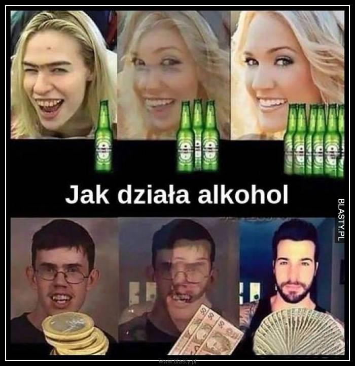 Jak działa alkohol