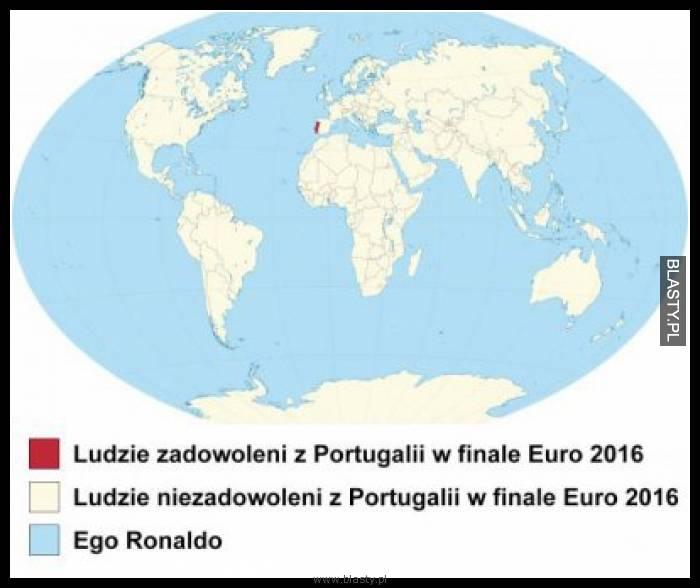 Ludzie zadowoleni z Portugali w finale euro 2016