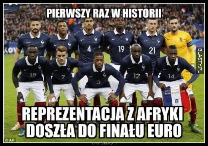 Pierwszy raz w historii reprezentacja afryki doszła do finału Euro