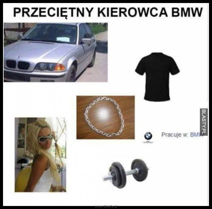 Przeciętny kierowca BMW