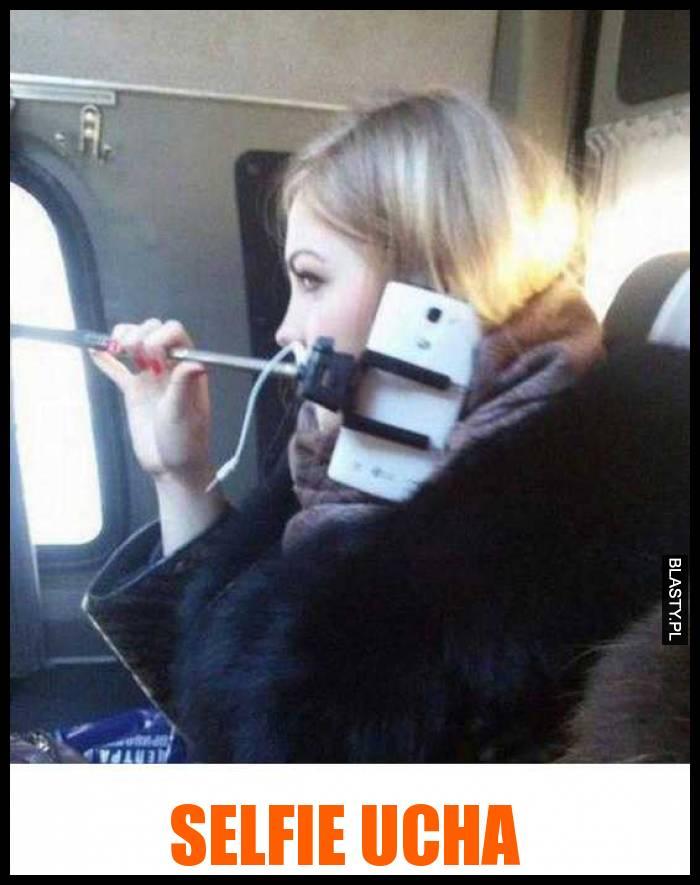 Selfie ucha