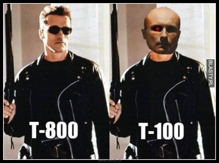 T-800 vs T-100