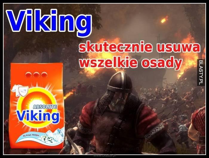 Viking skutecznie usuwa wszelkie osady