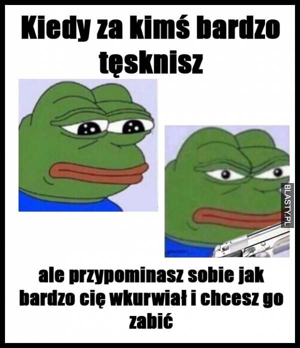 Wkurzony Pepe