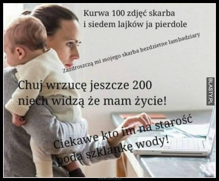 100 zdjęć skarba i siedem lików ja pier..