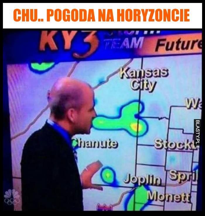 Chu.. pogoda na horyzoncie