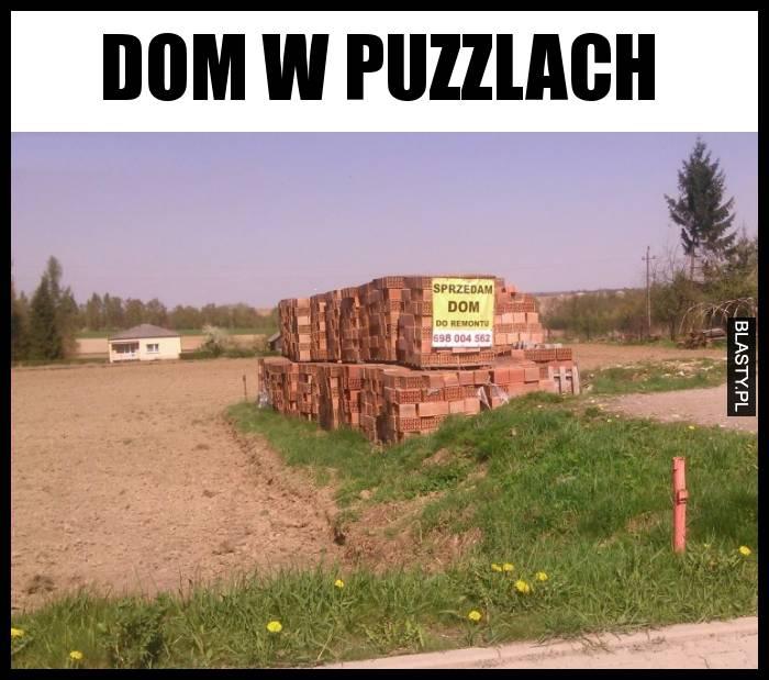 Dom w puzzlach