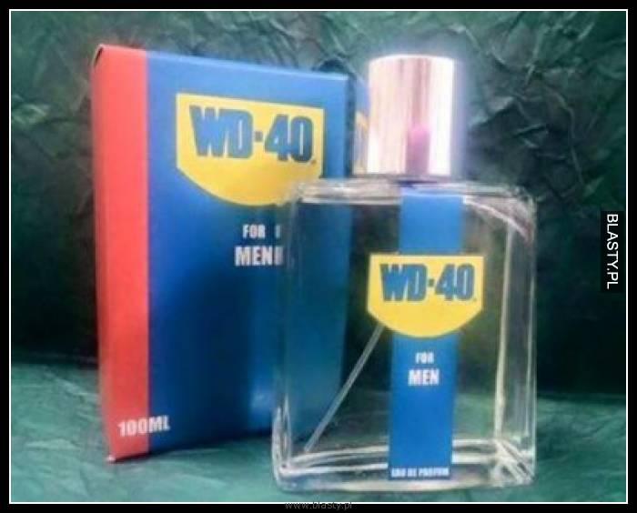 Nowa gama perfum dla mężczyzn WD-40