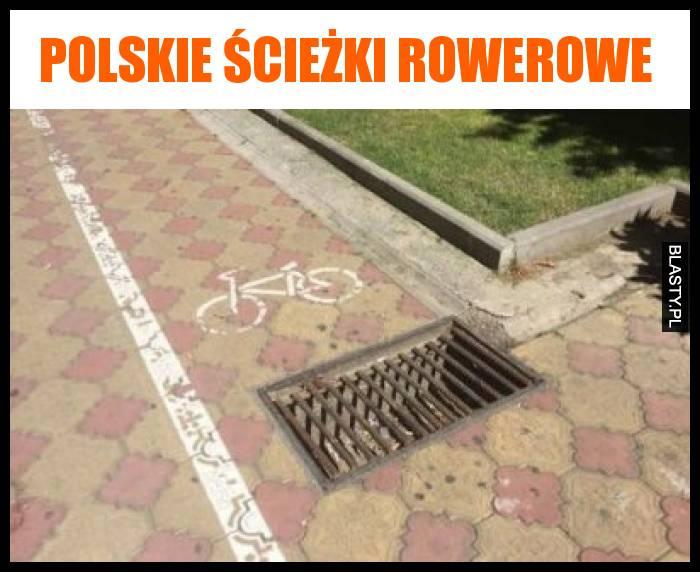 Polskie ścieżki rowerowe