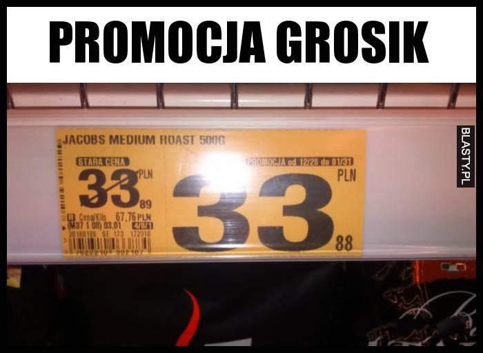 Promocja grosik