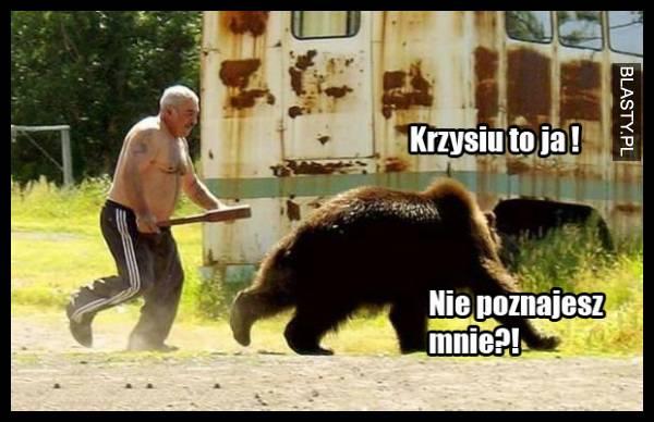 Rusek pogonił niedźwiedzia