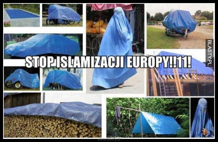 Stop islamizacji europy