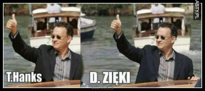 T.Hanks D.Zięki