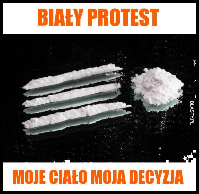 Biały protest - moje ciało moja decyzja
