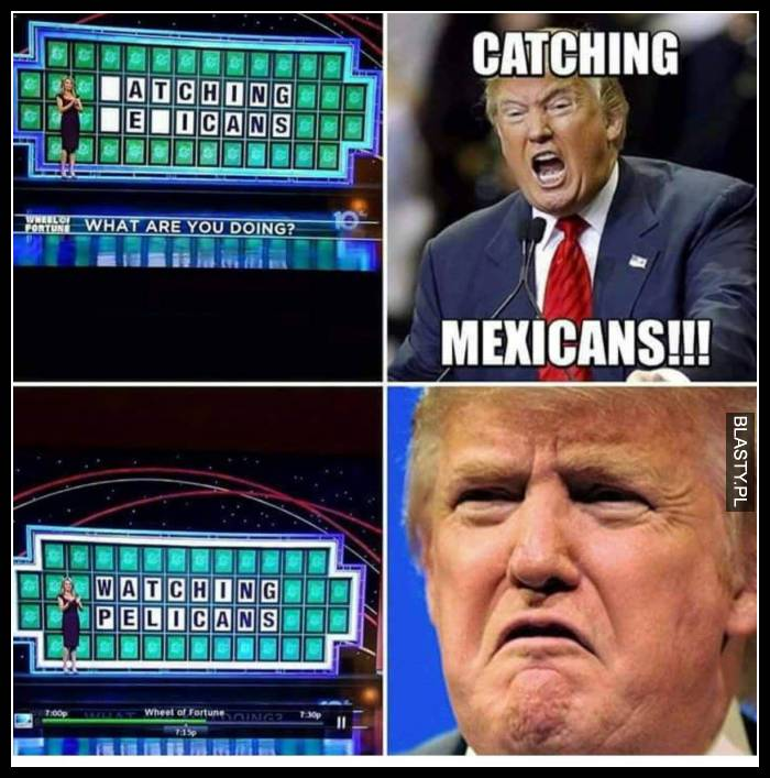 Catching mexicans - watching pelikans